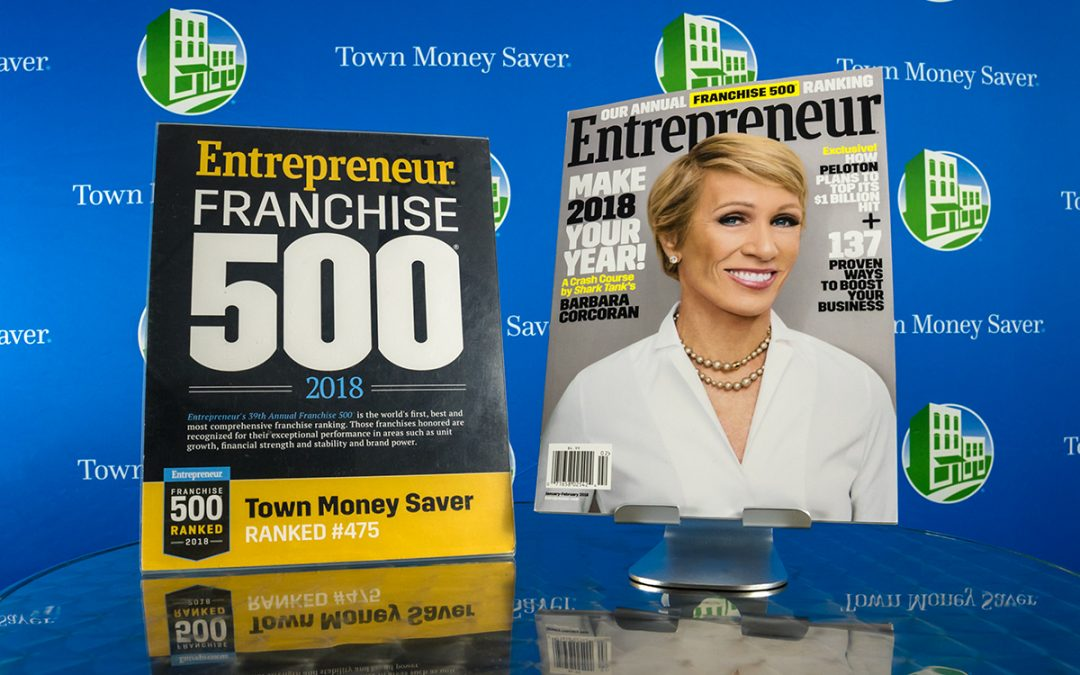 Town Money Saver ranked a top franchise in Entrepreneur's 39th annual Franchise 500