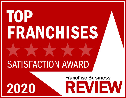 """A graphic that reads """"top franchises 2020."""""""